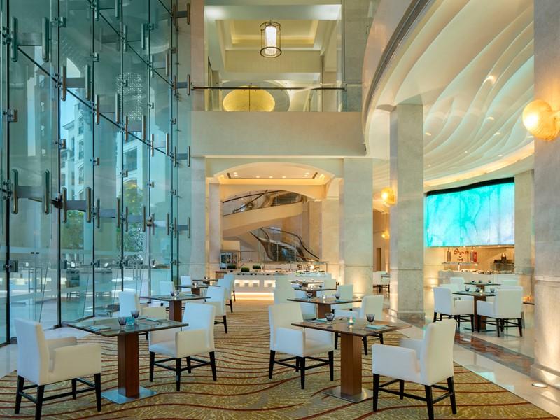 Le restaurant Olea du St. Regis Saadiyat Island Resort