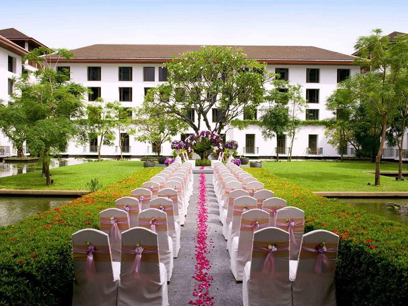 Mariage à l'hôtel The Sukhothai Bangkok en Thailande