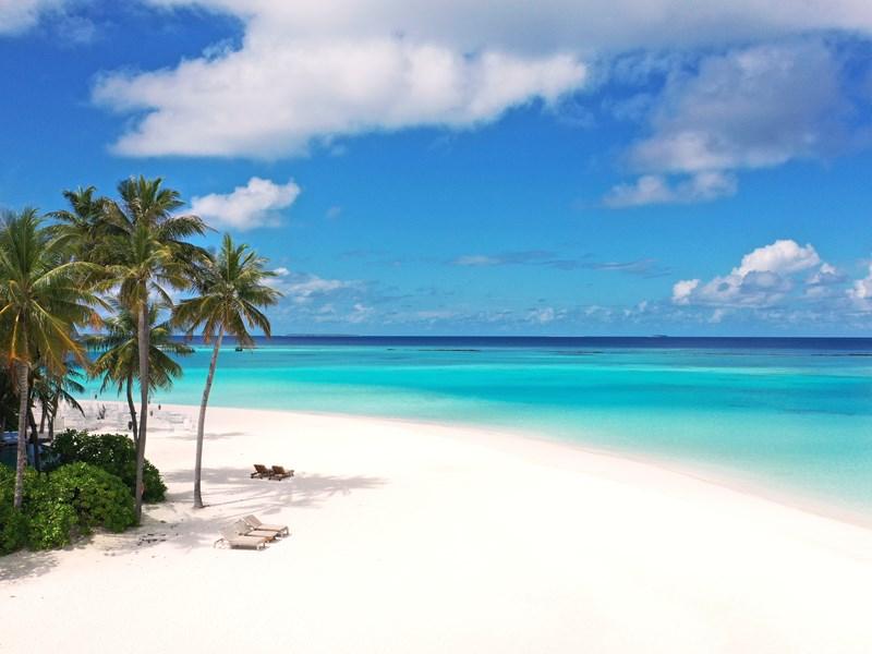La plage idyllique