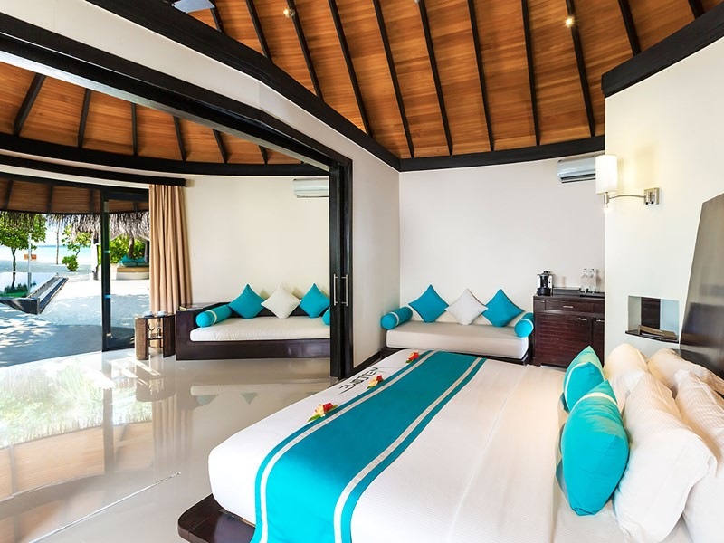 Family Deluxe Beach Villa with Pool du Sun Siyam