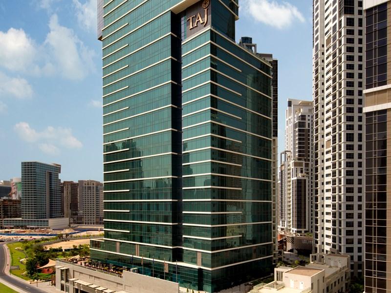 The Taj Dubaï, un imposant établissement au coeur de la ville