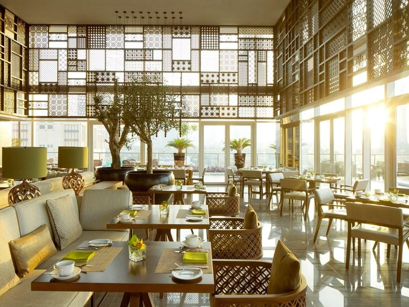 Le restaurant Tesoro et sa vue panoramique