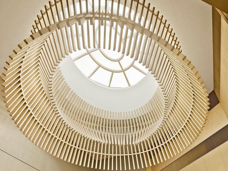 Architecture raffinée de l'Upper House à Hong Kong