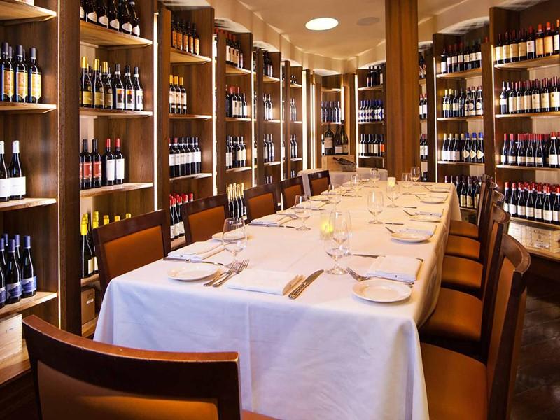 Une large sélection de vins vous attend au Venetian