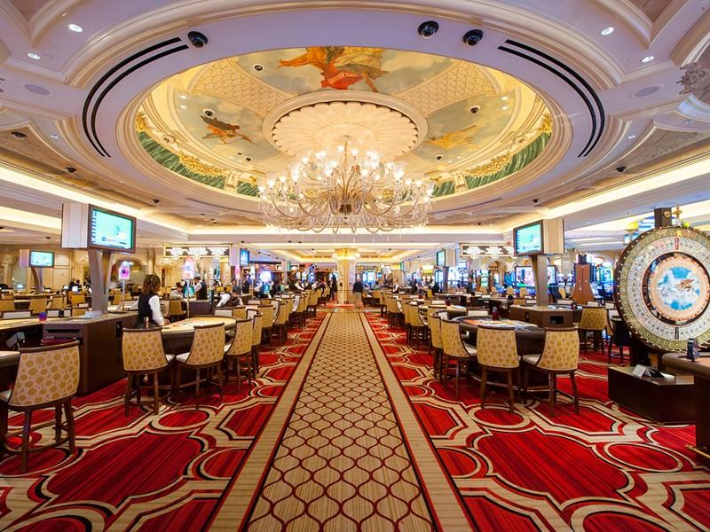 Le casino de l'hôtel The Venetian à Las Vegas, la ville du jeu