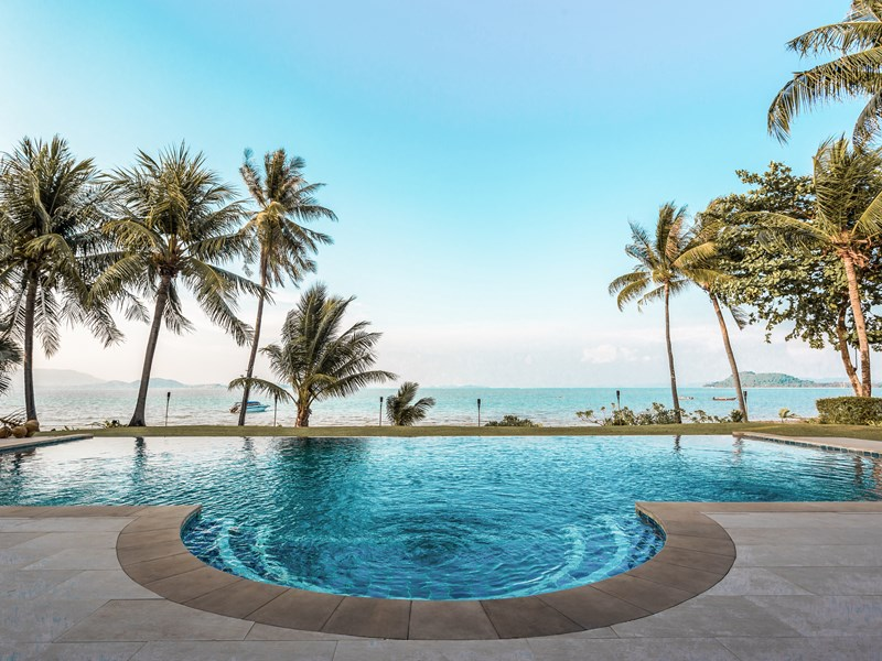 5 Bedroom Grand Beachfront Pool Villa