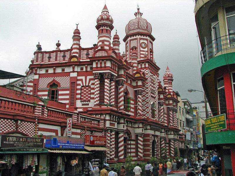 Vue de la ville de Colombo