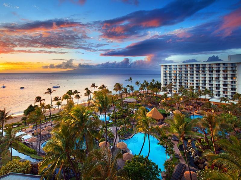 Vue de l'hôtel The Westin Maui Resort & Spa