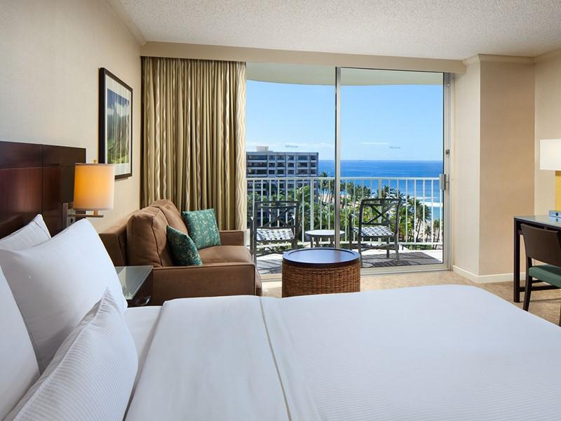 Premium Deluxe Ocean View Room du Westin Maui