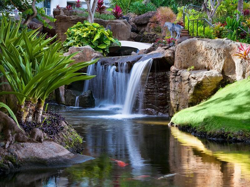 Le bassin de l'hôtel The Westin Maui à Hawaii