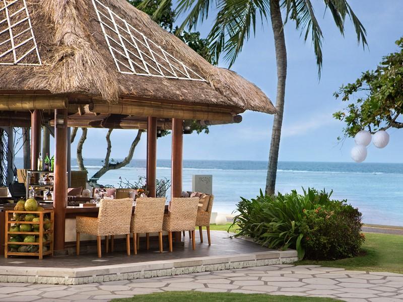 Le bar Ikan de l'hôtel The Westin à Nusa Dua