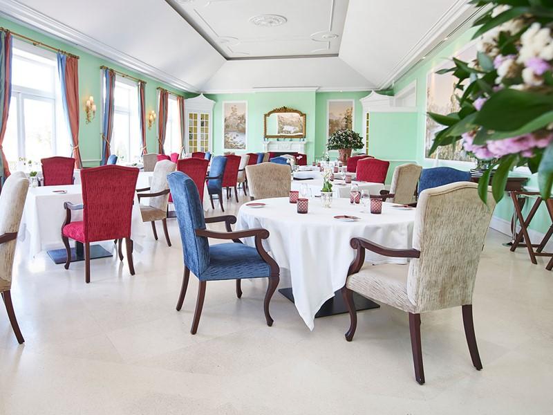 Le restaurant gastronomique de l'hôtel