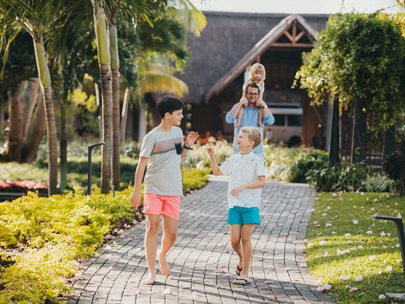 Vacances mémorables en famille