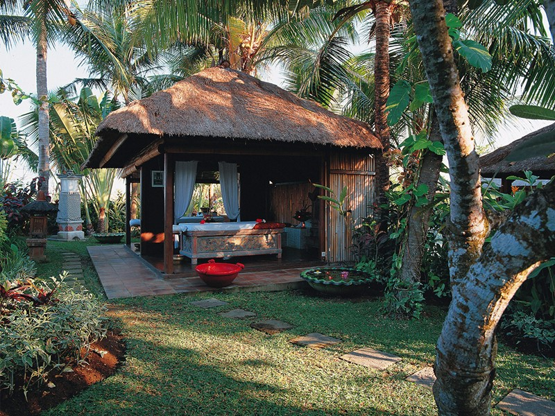 Massage au spa de l'hôtel Tugu Bali