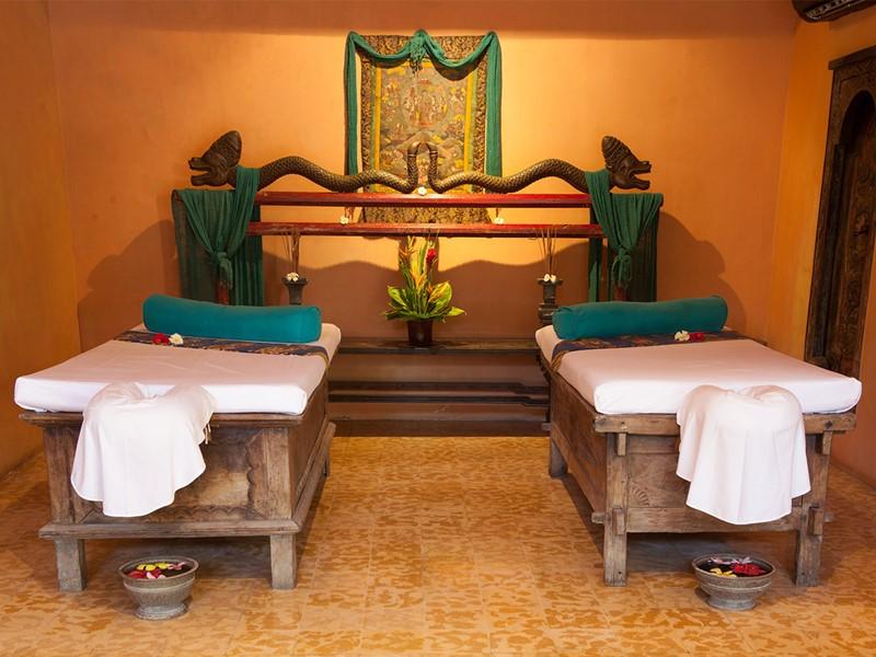 Le spa de l'hôtel Tugu Bali à Tanah Lot