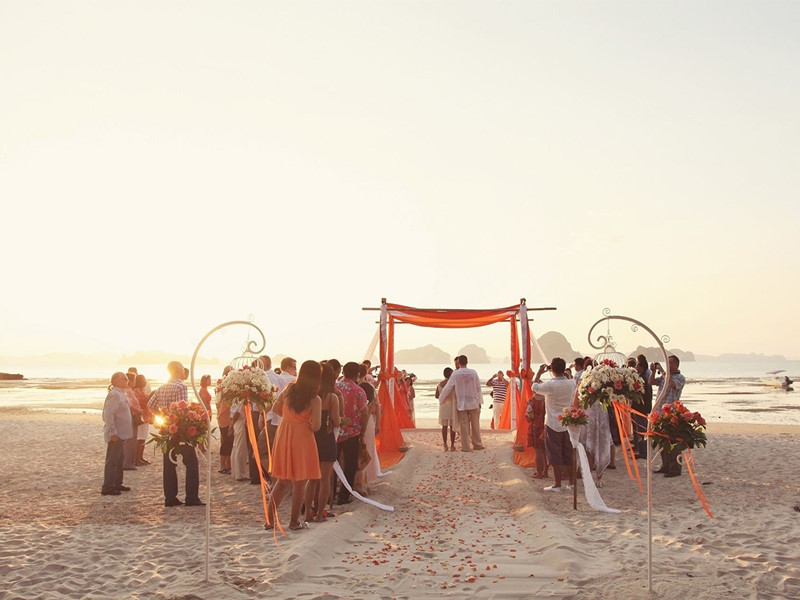Mariage au Tup Kaek Sunset Beach Resort