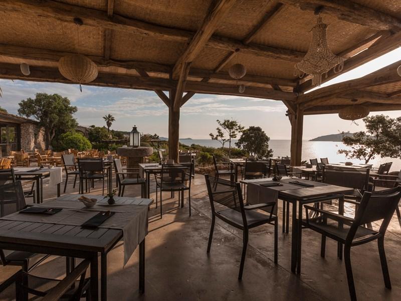 Le U Capu Biancu vous offre une restauration raffinée