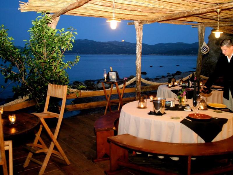Gadjo El Hadji's Restaurant de l'hôtel U Capu Biancu