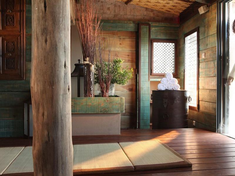 Le spa de l'hôtel 4 étoiles U Capu Biancu