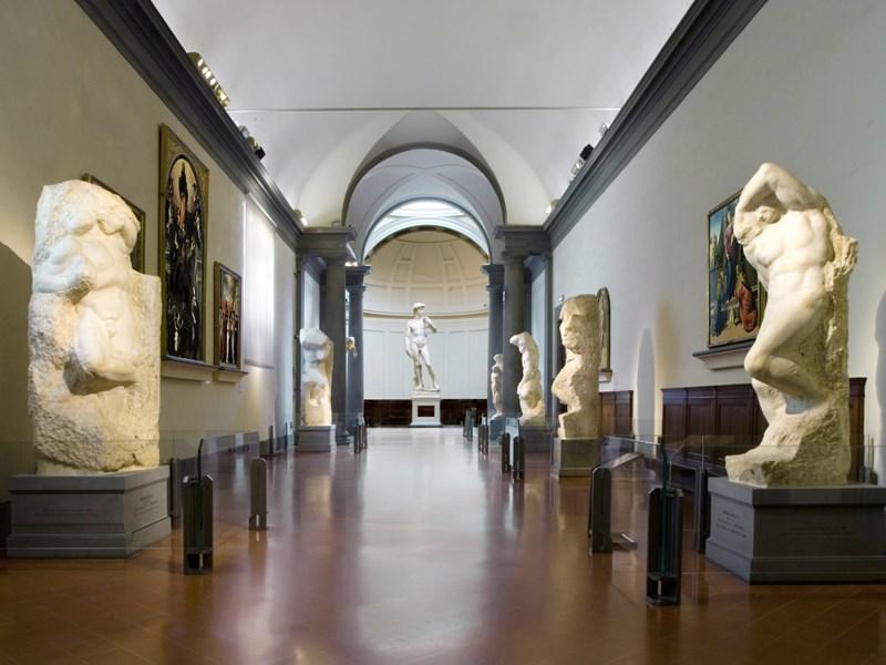 La galerie de l'Academia