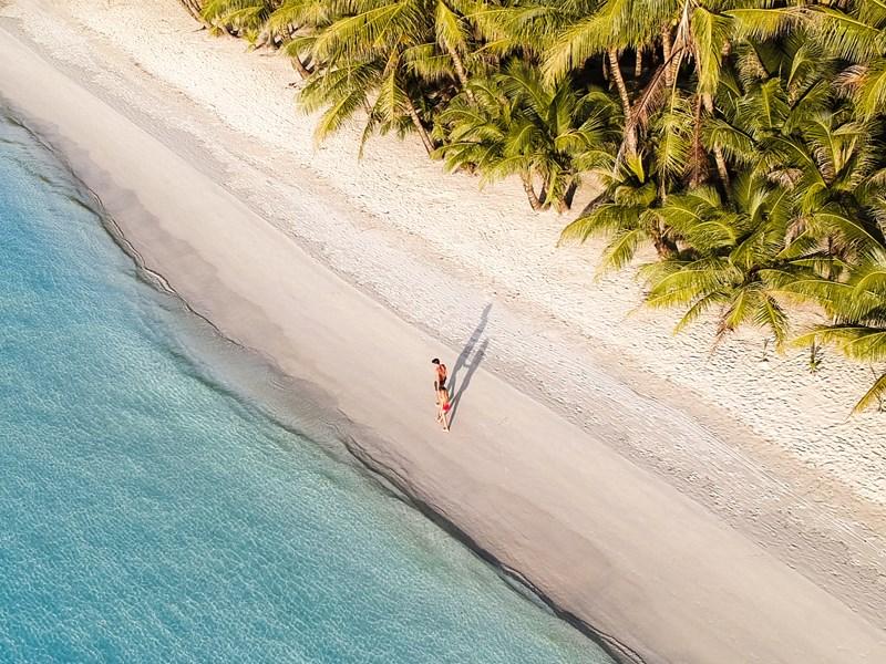 Parcourrez les plages de sable fin