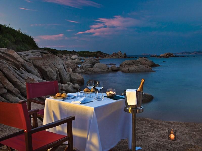 Partagez un dîner romantique, à la vue éblouissante
