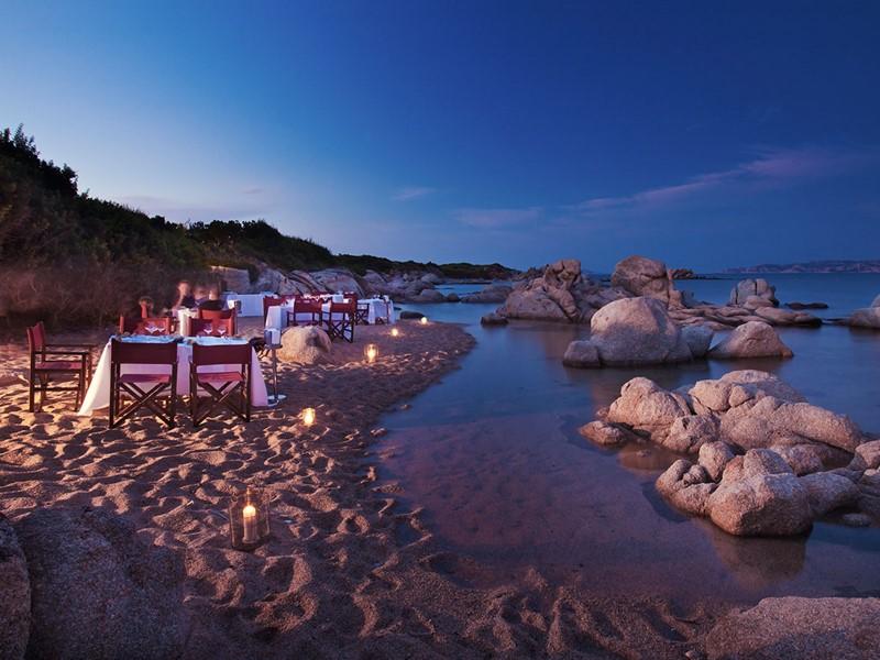 Li Zini Sea-Front Restaurant du Valle dell'Erica en Sardaigne