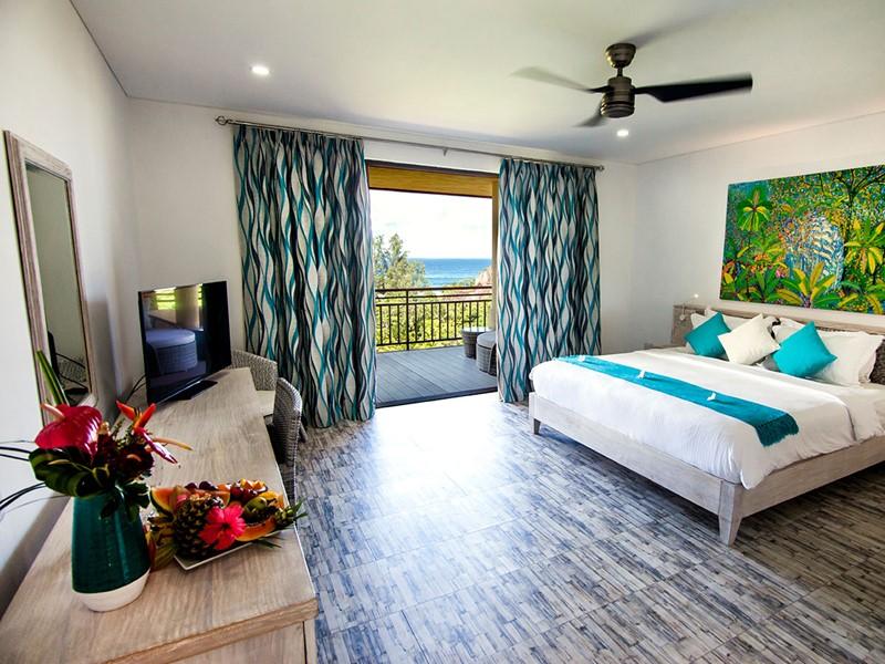 Ocean View Suite du Valmer Resort aux Seychelles