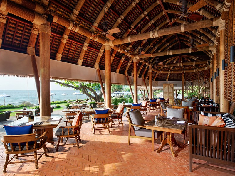 Restaurant Panali au Vana Belle en Thaïlande