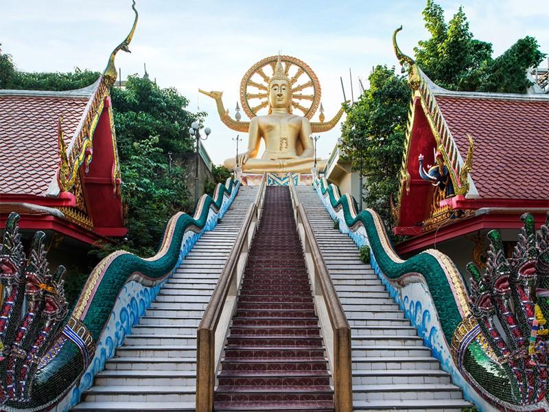 Visitez le 'Big Buddha Temple' en Thaïlande