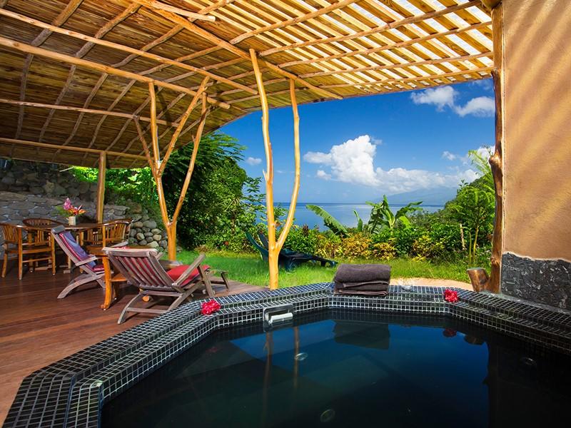 Two Bedroom Bungalow Vai Here & Jacuzzi® du Vanira Lodge