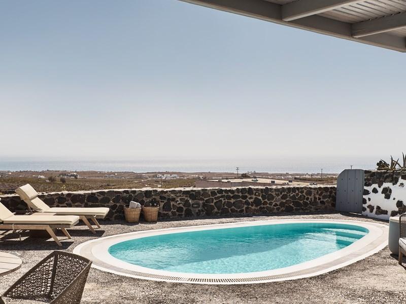 La piscine de l'Olympian Villa