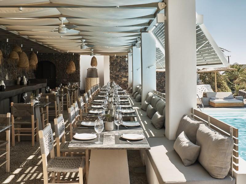 Le restaurant Pergola
