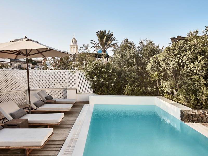 La piscine de la Presidential Villa