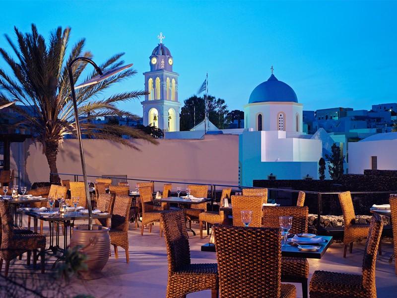 Autre vue du restaurant Visanto du Vedema Resort
