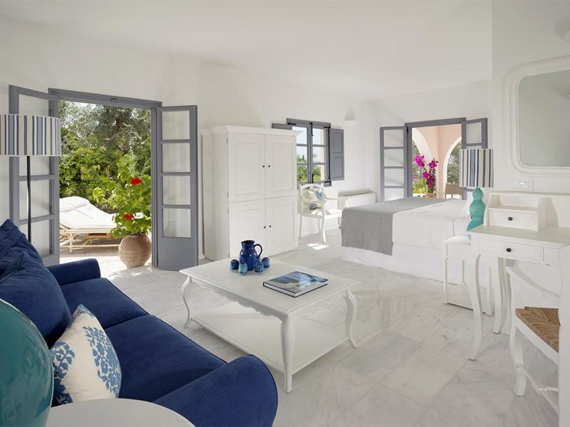 Suite Dorian de l'hôtel Vedema Resort en Grèce