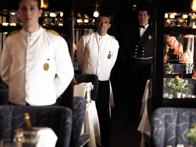 Le personnel du restaurant