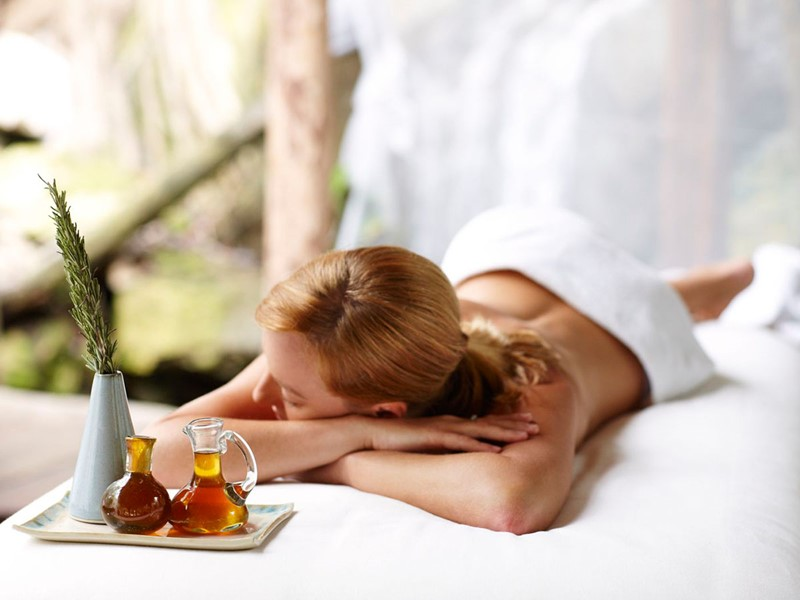 Le spa de l'hôtel 5 étoiles Viceroy Riviera Maya au Mexique