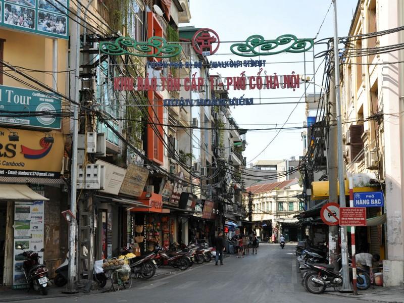 Les ruelles de la capitale vietnamienne