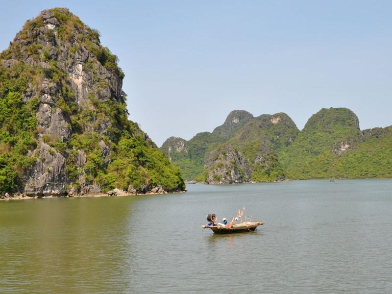 Les joyaux de la baie d'Halong