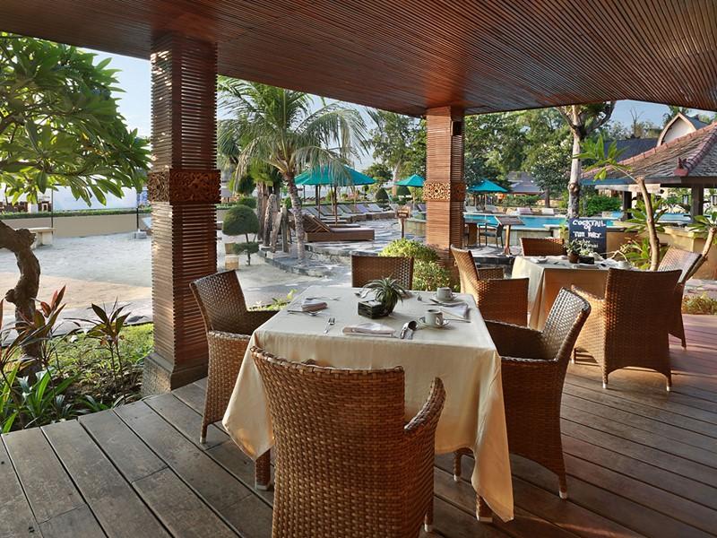 Sutre vue du Seahorse Restaurant de l'hôtel Vila Ombak