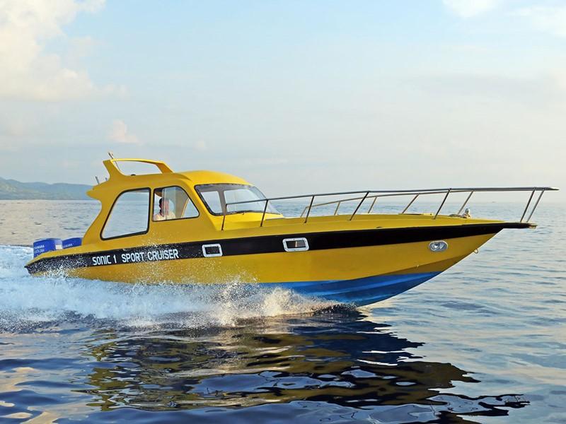 Speed Boat de l'hôtel Vila Ombak à Gili Trawangan