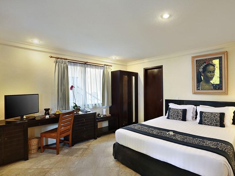 Superior Lumbung Terrace de l'hôtel Vila Ombak