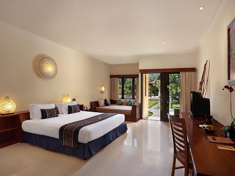 Deluxe Ombak Room de l'hôtel Vila Ombak