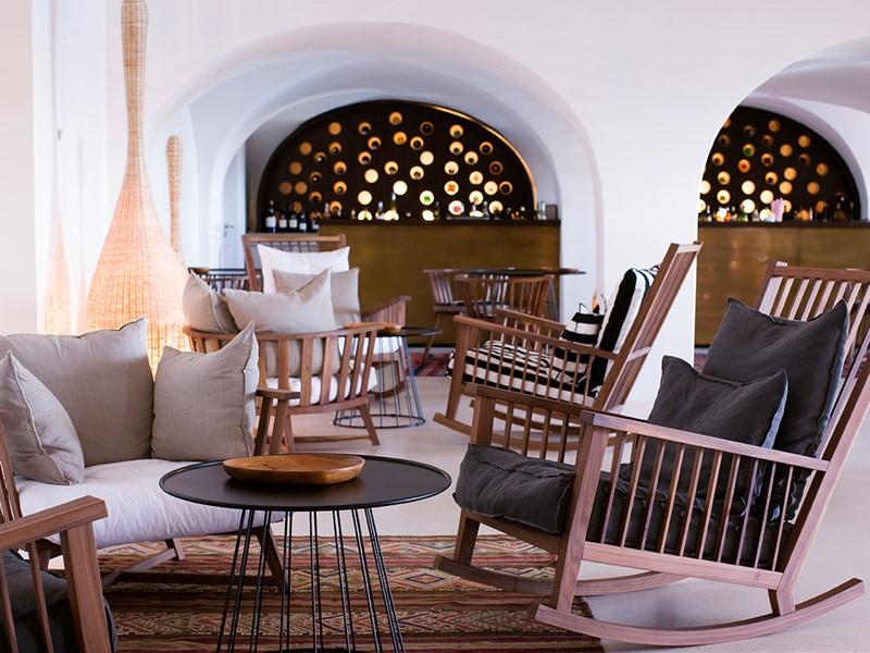 Le lounge bar du Vilalara Thalassa Resort
