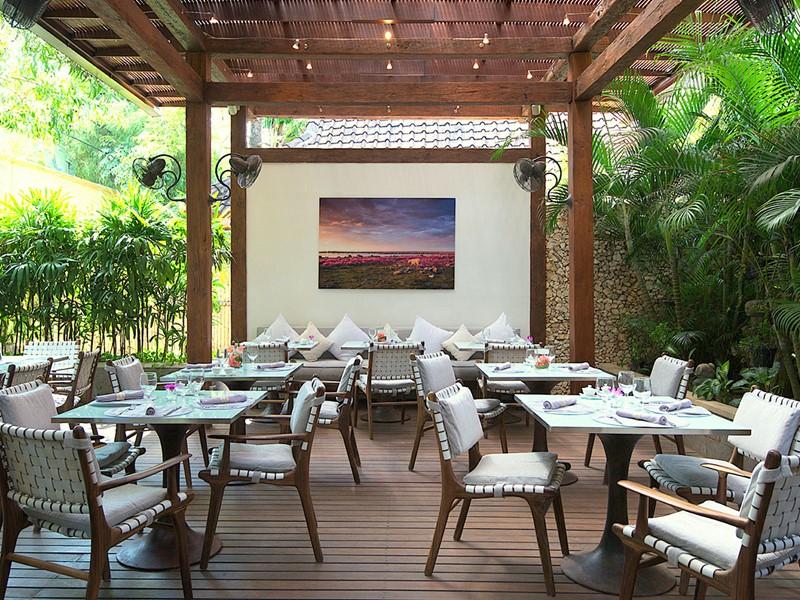 Le restaurant The Oasis