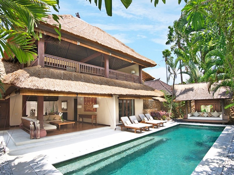 Vue extérieure de la Three Bedroom Premium Pool Villa