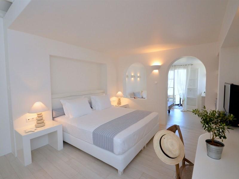Cycladic Superior Suite du Villa Marandi Luxury Suites en Grèce