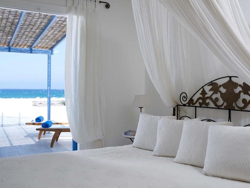 Honeymoon Superior Suite du Villa Marandi Luxury Suites en Grèce