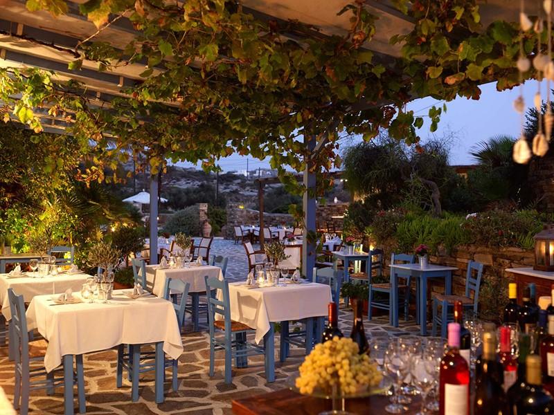 Restaurant du Villa Marandi Luxury Suites en Grèce